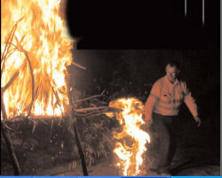 Stories around the fire