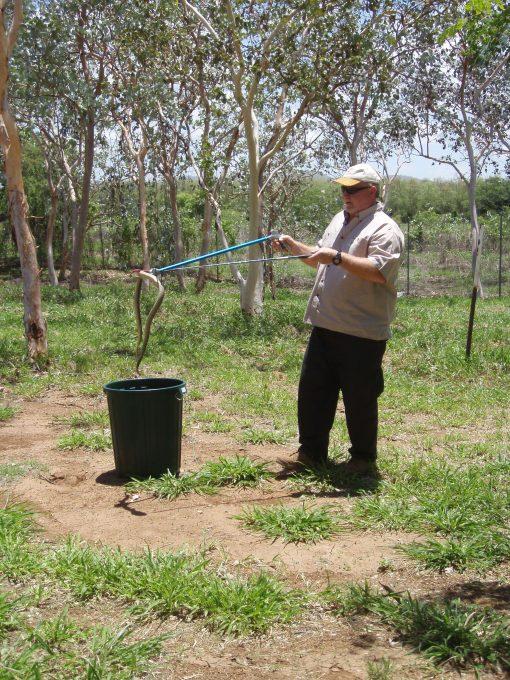 Bob Cooper Snake Handling Course